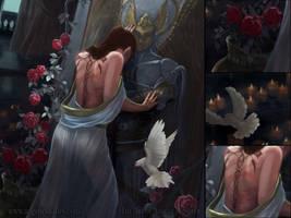 DETAIL - Kushiel's Dart by AngelaSasser