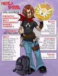 IlloLifeRPG Character Sheet - Level 1 - Angela S. by AngelaSasser