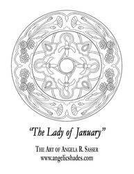Lady of January's Window by AngelaSasser
