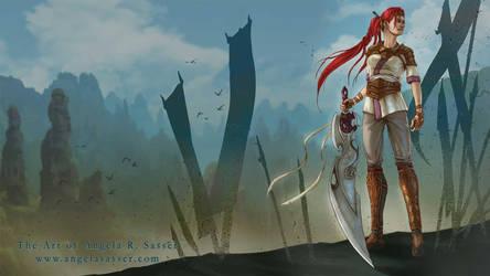 Nariko, Heavenly Guardian by AngelaSasser