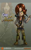 Chibi Portrait: Melakim by AngelaSasser