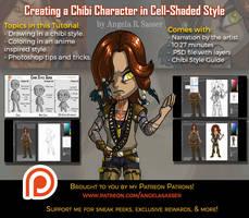 PREMIUM Tutorial - Creating a Chibi Character by AngelaSasser