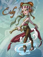 Chibi Pirate Eidy by AngelaSasser