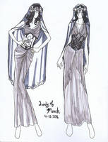 Lady of March Fashion Plates by AngelaSasser