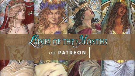 Ladies of the Months on Patreon by AngelaSasser