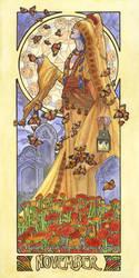 Lady of November by AngelaSasser
