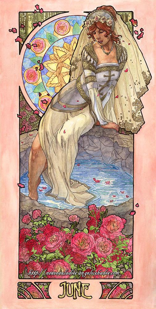 Lady of June by AngelaSasser