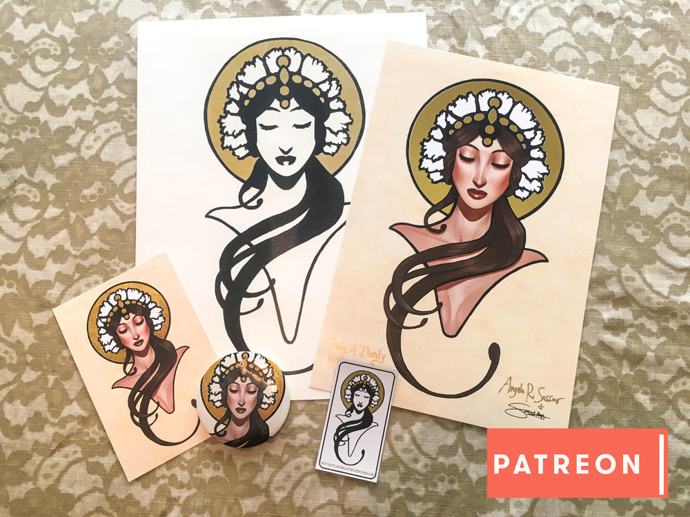 Lady of Eternity Patreon Gifts by AngelaSasser