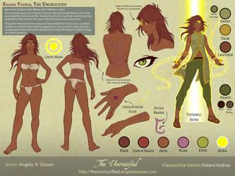 Character Sheet - Kalara Vadras [Basic] by AngelaSasser