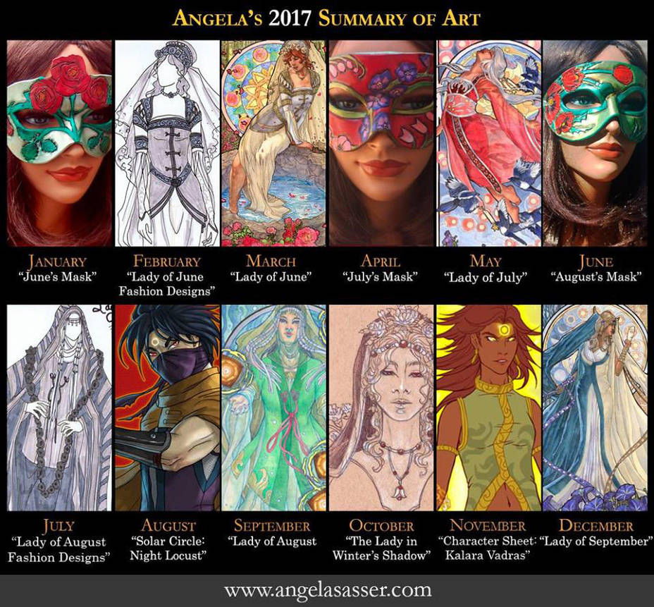 Ang's Summary of Art 2017 by AngelaSasser