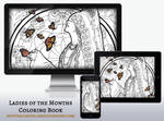 Wallpaper Pack: Lady of November Coloring Book Ed by AngelaSasser