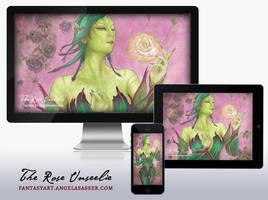Wallpaper Pack - The Rose Unseelie by AngelaSasser