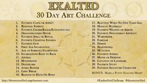 Exalted 30 Day Art Challenge by AngelaSasser