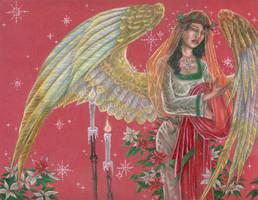 Angel of Noel by AngelaSasser