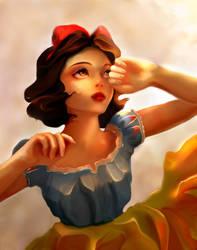 snow white by shirinart