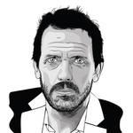 Hugh Laurie by AdNoctvm87