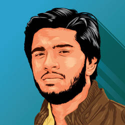 Another Vector Portrait for a client by AdNoctvm87
