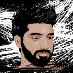 Portrait of a Friend by AdNoctvm87