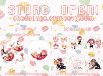 Storenvy store! Nalu stuffs! by shadoouge