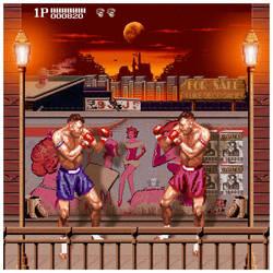 pixel fight by welsix
