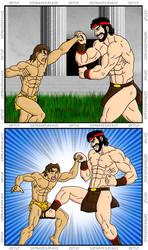 Korak vs. Hercules 10 by 09tuf by korak225