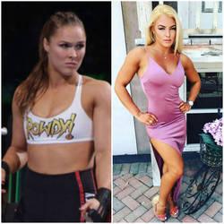 Ronda's Rose [F2F WWE caption] by PepsiPorno