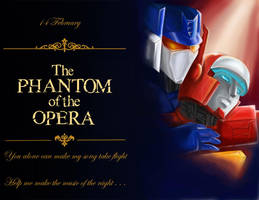 The Phantom of the Opera by Ebelar