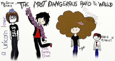 The Most Dangerous Band in the World by emmiliz