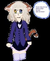 Free Adoptable #3 Kawaii Neko school girl OPEN by Paradign9