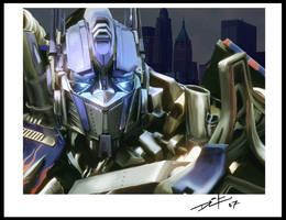 I am Optimus Prime by LEADZ
