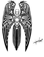 Angel tattoo by Midnite7175