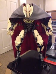 Custom Cape for Lego Buildable General Grievous by ToaAntan