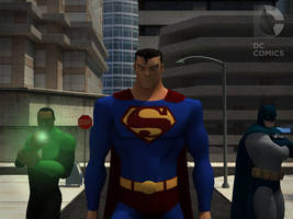 Justice League -3D models- by RedDoggX
