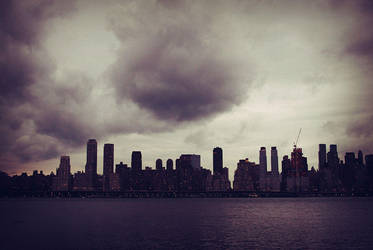 Randomness: Cloudy NYC by thespyder