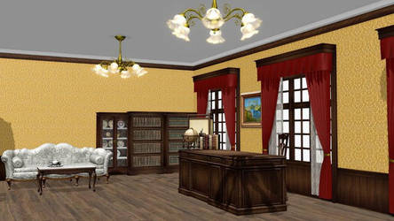 Executive Room Stage DL by mmdspot