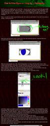 Tutorial - Coloring Eyes GIMP by FastSpeedy