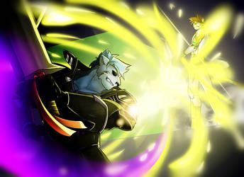 Fight of Light by FastSpeedy