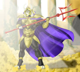Asgore, The King of the Mountain by FastSpeedy