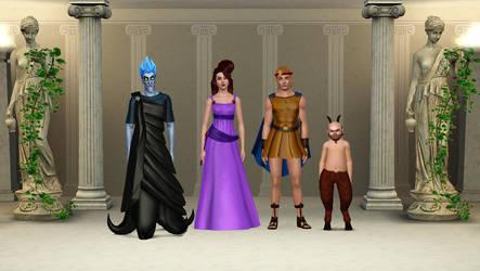 Hercules Main Characters by snarro84