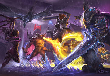 Press R battle hots by MiguelCoimbra