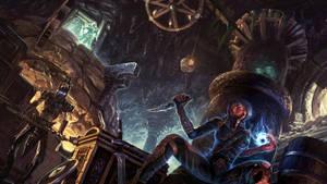The Elder Scrolls 5 by jianlu