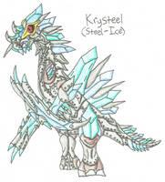 Fakemon Legend - Krysteel by UltimateRidley