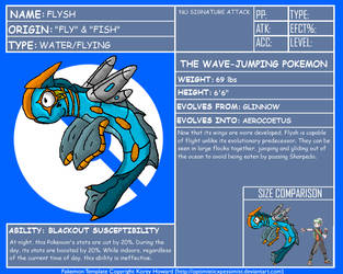 FakeDex Entry - Flysh by UltimateRidley