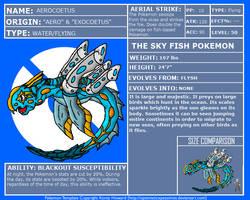 FakeDex Entry - Aerocoetus by UltimateRidley