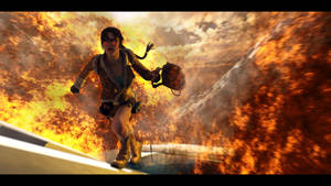 Tomb Raider 2- Crash by Croft094