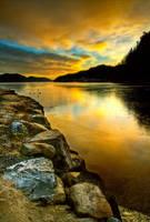 Sunrise In Norway by AlykasValokuvan