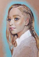 Portia Doubleday - Pastel Portrait by shvau4
