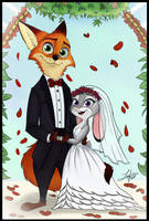 Wildehopps wedding Portrait! by juantriforce