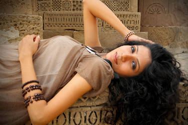 Fashion Photo Shot at Graveyard by sheze