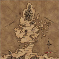 Old style map by Sapiento